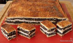 Romanian Desserts, Tiramisu, Caramel, Sweet Treats, Food And Drink, Dessert Recipes, Favorite Recipes, Sweets, Cookies