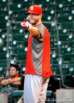 David Richard Freese, one of the many reasons to love the cardinals! True Lafayette Boy!