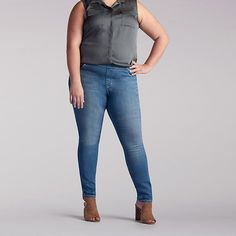 Lee Women's Dream Jeans - Harmony Legging - Plus Size::26W:P