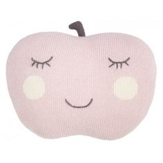 Coussin pomme - Rose