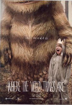 I'm really looking forward to Spike Jonze's film adaptation (with Dave Eggers) of Maurice Sendak's beloved children's book Where the Wild Things Are. (film poster found via slash film via Nick magazine) Pulp Fiction, Love Movie, Movie Tv, Narnia, Movies Showing, Movies And Tv Shows, Catherine Keener, Movies Quotes, Richard Ayoade