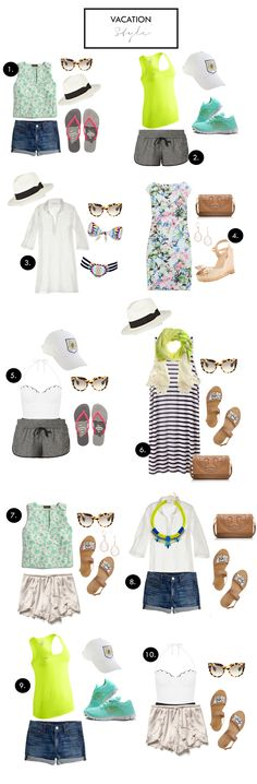 How to pack for vacation!