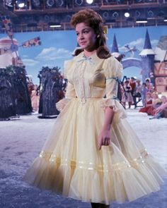 Annette Funnicello on the set of Babes in Toyland