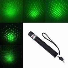 2016 Caza dispositivo 303 Lazer Foco Ajustable Puntero Láser Verde mira láser Rojo con Llave de Seguridad (Sin Batería)