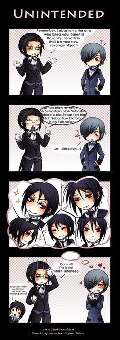 Awwww Ciel x Sebastian perfect yaoi couple! (Kuroshitsuji was originally supposed to be hardcore yaoi, but they changed it... *a bit sad*)<<< *dramatic music*