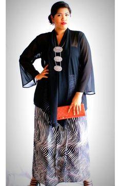 New dress brokat untuk orang gemuk Ideas Trendy Dresses, Modest Dresses, Nice Dresses, Dresses With Sleeves, Maxi Outfits, Night Outfits, Dress Brokat Modern, Kebaya Brokat, Kebaya Dress