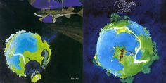 Cover for 'Fragile' album by Yes. Early Roger  Dean effort, before all the swirly stuff!