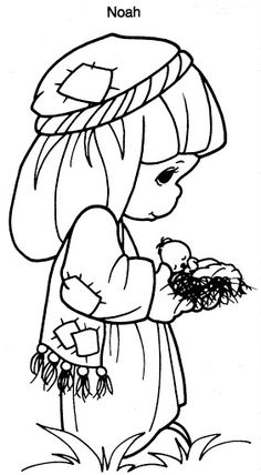 Noah precious moments coloring pages Bible Coloring Pages, Free Printable Coloring Pages, Coloring Sheets, Coloring Pages For Kids, Coloring Books, Precious Moments Quotes, Precious Moments Coloring Pages, Precious Moments Figurines, Christmas Coloring Pages