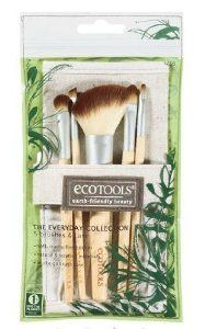 EcoTools The Everyday Collection 6 Piece Brushes & Case by EcoTools. $24.98. Made from bamboo and 100% cruelty-free soft brushes. 5 brushes and a hemp-cotton bag for carrying. Earth-friendly EcoTools The Everyday Collection 6 Piece Brushes & Case show respect for the planet. The handles are made from bamboo, a highly sustainable plant, and features 100% cruelty-free, soft Taklon bristles and recycled aluminum ferrules. The set comes with a natural cotton and h...
