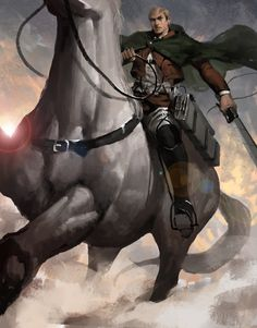 - Attack on Titan - Erwin