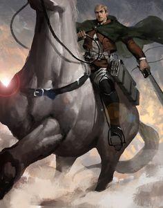 - Attack on Titan - Erwin