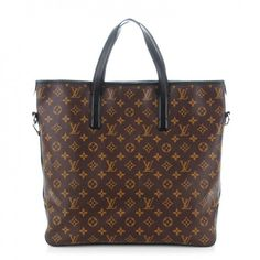 This is an authentic LOUIS VUITTON Monogram Macassar Davis. This stylish tote is crafted of Louis Vuitton monogram on brown toile canvas with black cowhide leather trim.