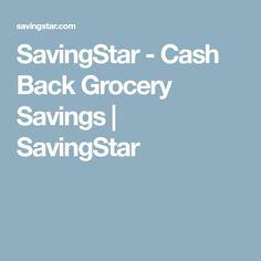 SavingStar - Cash Back Grocery Savings | SavingStar