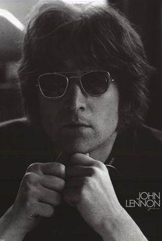 John Lennon Solo Years Portrait Original 2005 Music Poster 24x36