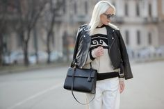PLATINUM PRINCESS | New #beauty #streetstyle post on #TheStreetMuse blog by #MelanieGalea. It's all about #grannyhair.
