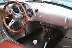 A very well-done Porsche 550 Spyder replica.