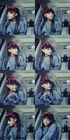 singing in a car