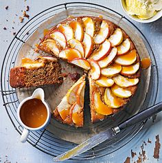 Sticky Toffee Apple Cake recipe | Food & Wine | M&S This looks delicious for Autumn!