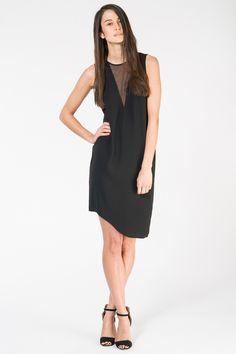 Acute Angle Dress - Black - Superette | Your Fashion Destination.
