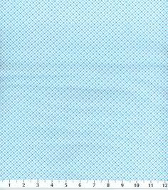 "Snuggle Flannel Fabric-Diagonal Plaid Blue, , hi-res - 100% Cotton - 42"" wide - $4.19"
