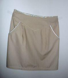 deer&doe pattern  Chataigne transformé en jupe