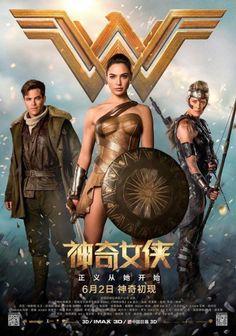Novos pôsteres de Mulher-Maravilha destacam as guerreiras amazonas | Pipoca Moderna