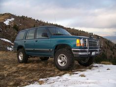 Lifted 94 explorer Ford Explorer, Offroad, 4x4, Wheels, Trucks, Park, Awesome, Off Road Racing, Cars