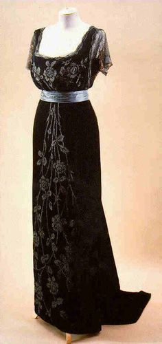 Jacques Doucet     Evening Gown, 1908c Elegance and beauty are timeless
