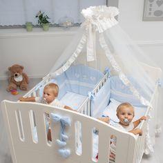 #Zwillingsbett Gemini in weiß mit 2 separaten Schlafplätzen, #Babymöbel für #Zwillinge bei uns im #Babyshop http://pali-world.de/advanced_search_result.php?keywords=gemini&x=0&y=0
