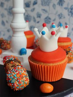 Kingsday cupcakes
