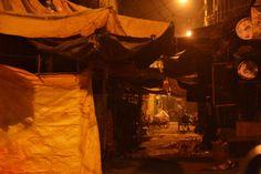 Calcutta at night