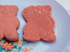 Felt Teddy Bear Biscuit from Wombat's Picnic