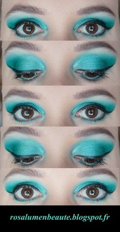 #tuto #maquillage #diy #makeup #green #vert #yeux #soirée #shooting  https://www.facebook.com/pages/Rosa-Lumen/158894470845135?fref=ts