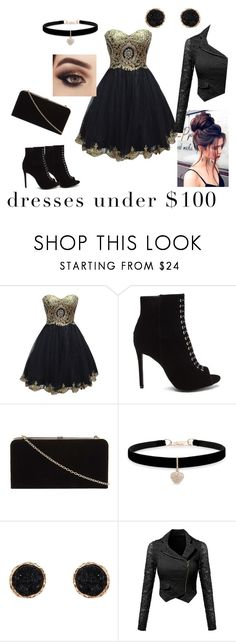"""dress under $100"" by ava-r-johnson on Polyvore featuring Dorothy Perkins, Betsey Johnson and Humble Chic"