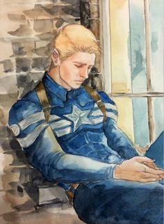 Just Steve by http://comaagain.tumblr.com/post/98442634641/just-steve