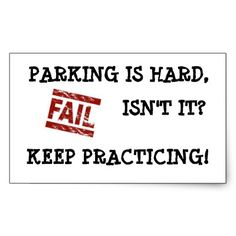 Gentle Parking Encouragement Rectangle Stickers By Cotnam Bad Art Posters Business Cards