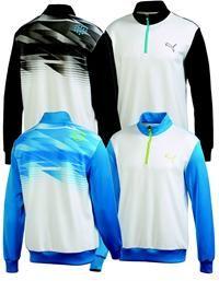 puma outfits mens. puma | mens golf shirts indigital zip popover outfits