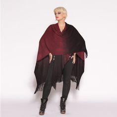 Ombré Knit Wrap assorted colors, $42, now featured on Fab.