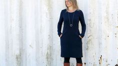 Robe polyvalente Madame Fannie - tuto et patron en français - Patrons et tutoriels de couture chez Makerist