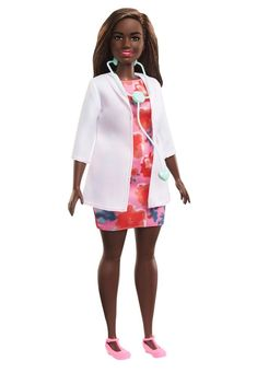 Purchase this Barbie doctor doll in August, and $5 will be donated to an incredible org helping the children of first responders Cool Mom Picks, Children Images, Barbie Collection, Mom Birthday, Pretty And Cute, Toys For Girls, Toddler Toys, Best Mom, Cool Toys
