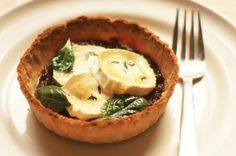 Goat's Cheese and Red Onion Tart. awesome