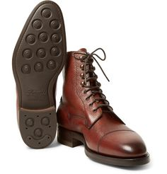 hot sale online 99a1f fda7f Edward Green s  Galway  boots are expertly handcrafted using processes that  have remained largely unchanged
