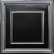 #224 Antique Silver Faux Tin Decorative PVC Ceiling Tile