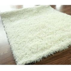 Found it at Wayfair - Veneti White Rug White Shag Area Rug, White Rug, Where To Buy Carpet, Carpets For Kids, Hallway Carpet Runners, Carpet Cleaners, Throw Rugs, Shag Rug, Hardwood