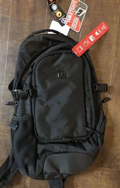 8c45a39d6049 New Swiss Gear Backpack Computer Tablet School Bag Black Small Travel  Backpack  fashion  clothing