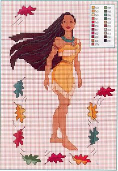 Thrilling Designing Your Own Cross Stitch Embroidery Patterns Ideas. Exhilarating Designing Your Own Cross Stitch Embroidery Patterns Ideas. Disney Cross Stitch Patterns, Cross Stitch For Kids, Counted Cross Stitch Patterns, Cross Stitch Charts, Cross Stitch Designs, Cross Stitch Embroidery, Embroidery Patterns, Disney Stitch, Pocahontas