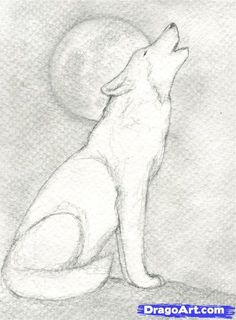 wolves to draw | Step 9. How to Draw a Howling Wolf