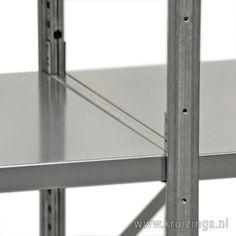 Kruizinga.nl, kwaliteit stellingen, verschillende legborden met verschillend draagvermogen en diepte.