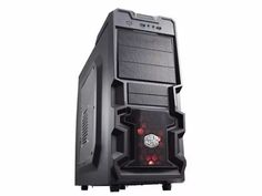 gabinete gamer pc cooler master k380 mid tower usb 3.0