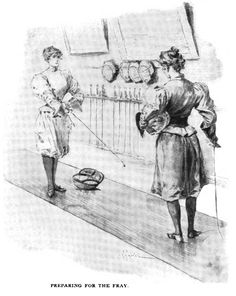 Preparing for the Fray From Munsey's Magazine, 1897
